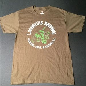 Mens LAGUNITAS BREWING T-Shirt Size Medium M